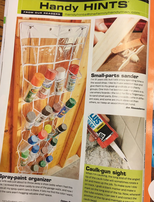 Handyman Magazine Article