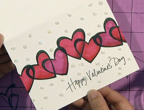 Color Me Valentine Card