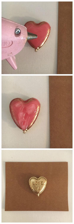 Lollipop Valentine Card
