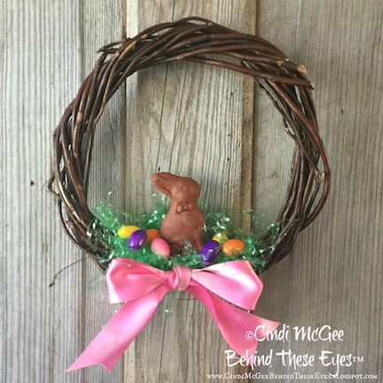 Easter Candy Wreath watermarked