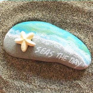 Seas The Day Beach Rocks
