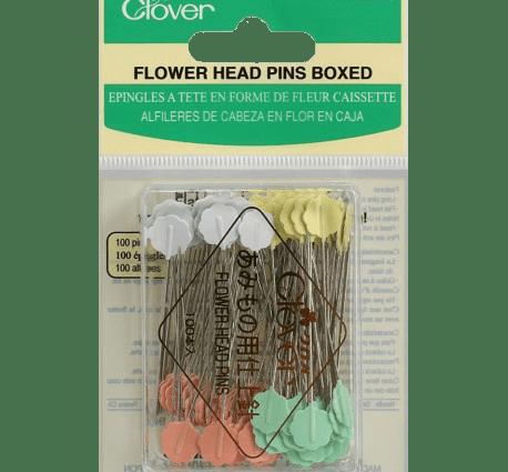 Clover Flower Head Pins