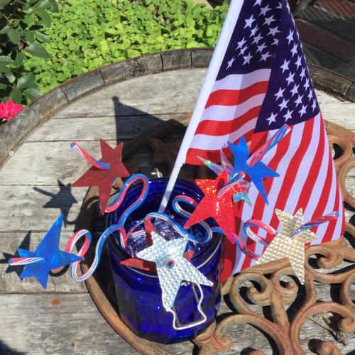 Easy Star Straws: Patriotic Fun for Kids