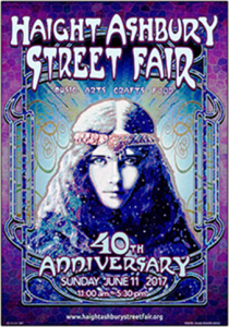 Haight-Ashbury Street Fair Poster