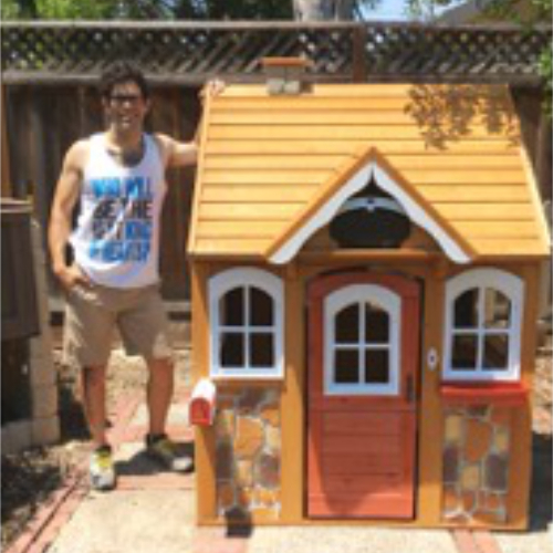 Playhouse For Summer Fun