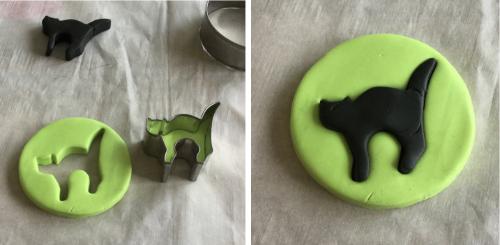 Halloween Black Cat Bracelet HOW 2