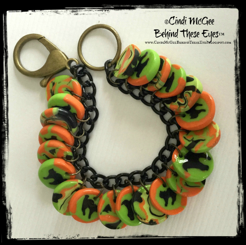 Halloween Cat Bracelet watermarked