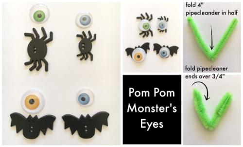 Pom Pom Monster's Eyes