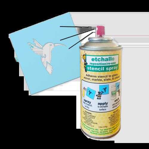 etchall® Reposition/Reuse Stencil Spray