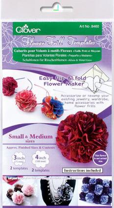 Clover Flower Frill Template