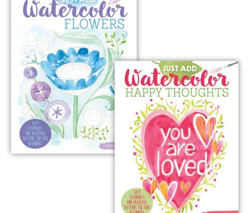 Just Add Watercolor covers