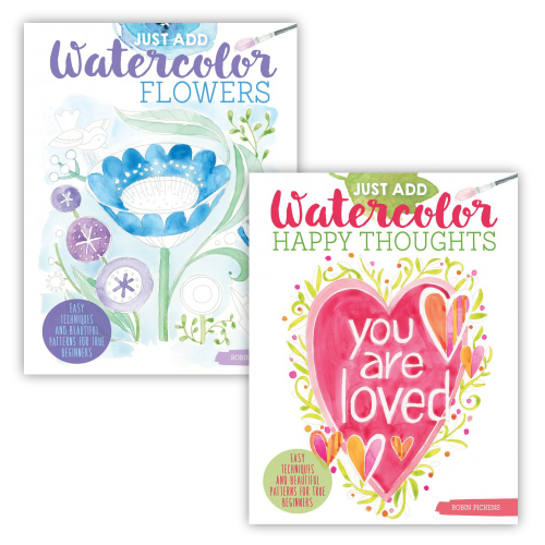 Two New Watercolor Guides Inspire Creativity