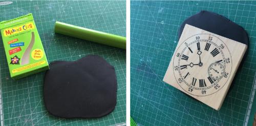 Steampunk Clock Face Votive HOW 5