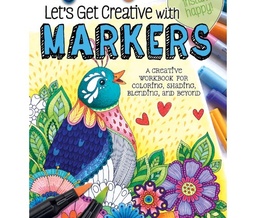 Let's Get Creative with Markers cvr