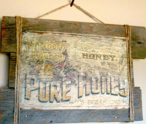 Vintage Crate Sign