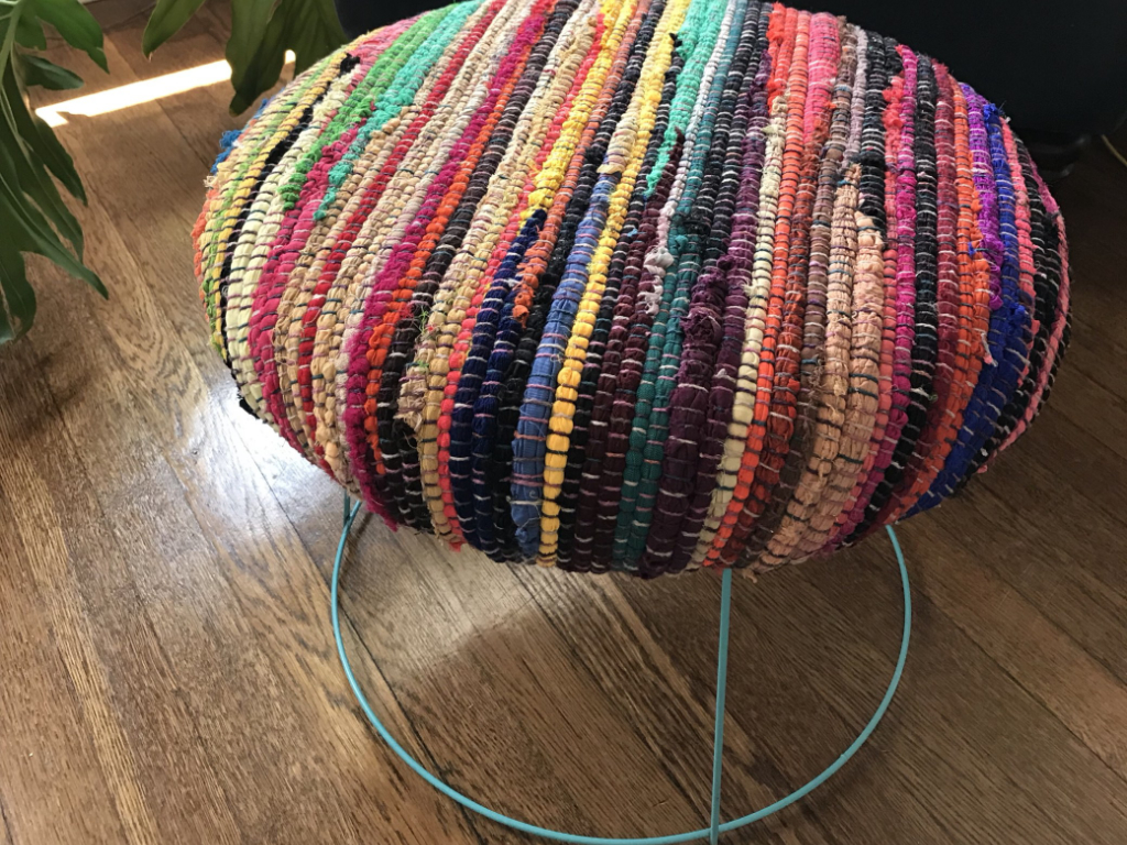 Tomato Cage Foot Stool