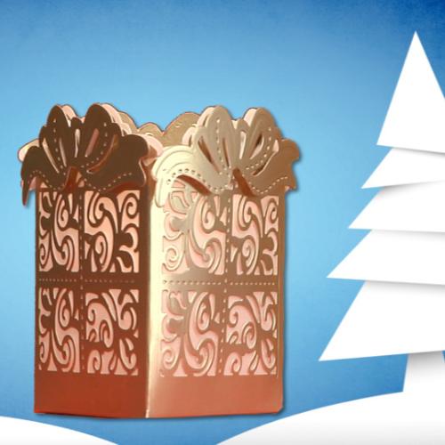 Gift Box Luminaria