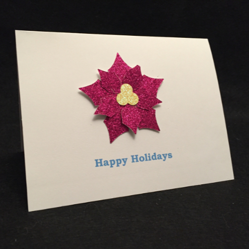 Let it Sparkle Holiday Card