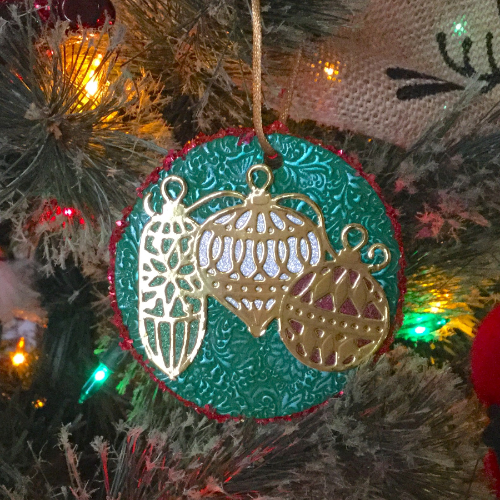 Shimmering Holiday Ornament