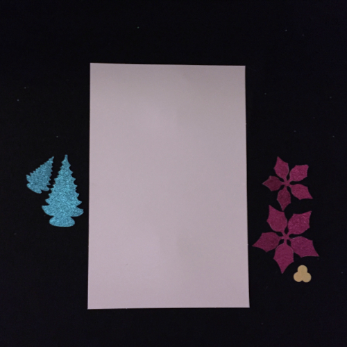 Let it Glitter Holiday Card