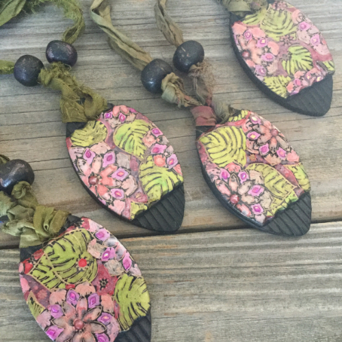 Lotus Pond Pendants