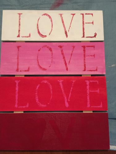 Love Pallet Plaque How 4