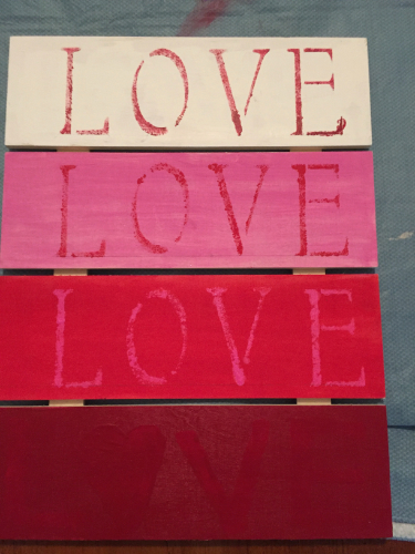 Love Pallet Plaque How 4