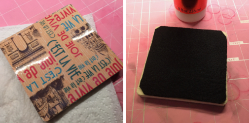 Custom Parisian Coasters How 4