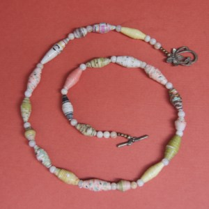 Rolled Paper Necklace 1