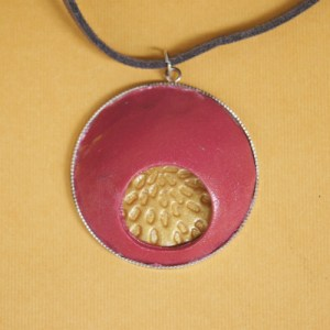 Underneath The Red Planet Pendant