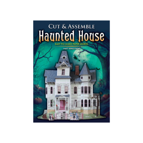 Cut and Assemble Haunted House (week 4)
