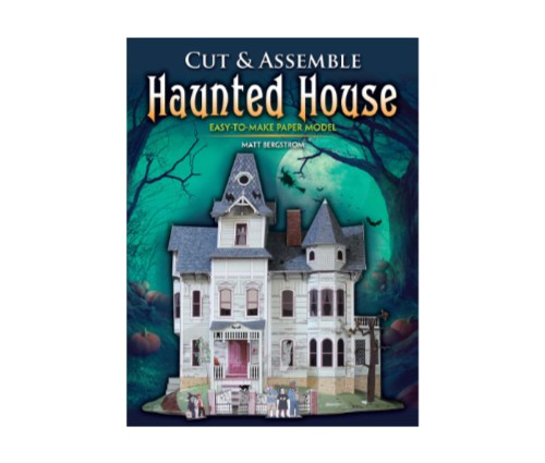 Cut and Assemble Haunted House front cover