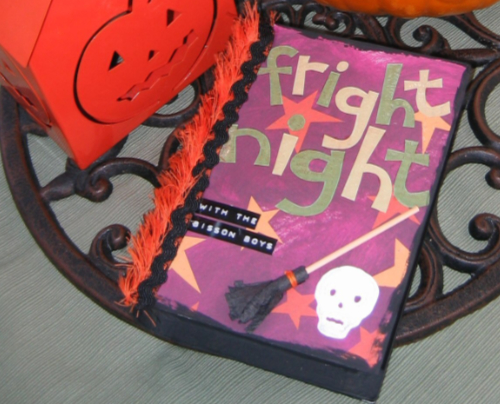 Fright Night Halloween Phot Book