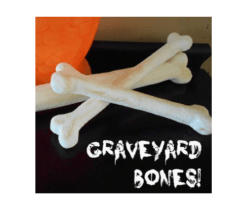Halloween Graveyard Bones featured