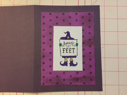Halloween Witch Card How 6