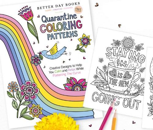 Quarintine Coloring Patterns