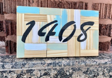 Decorative Address Marker 500