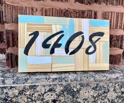 Decorative Address Marker 500