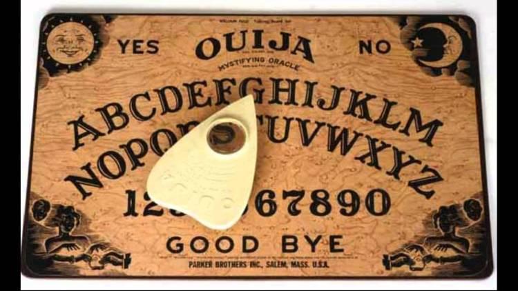 Ouija or spirit board
