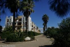 Our condo complex in Zahara de los Altunes