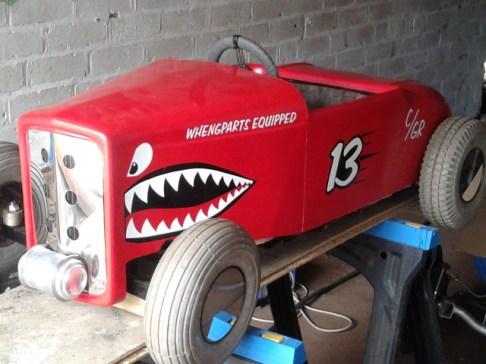 32' Salt Flats Racer Tot Rod: completed