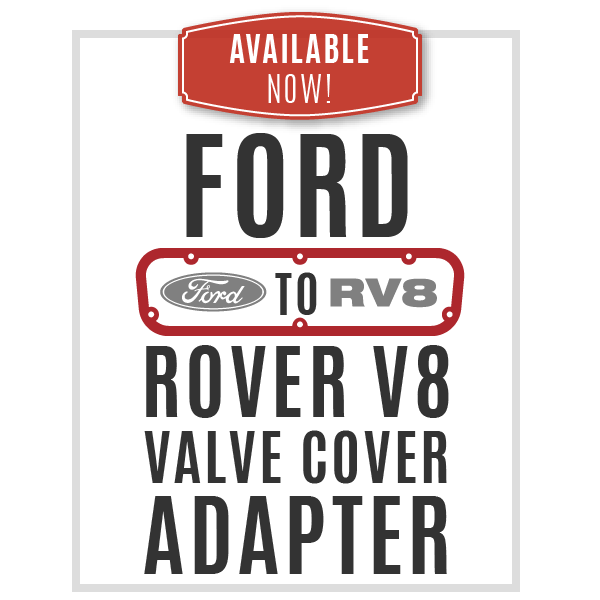 Ford to Rover V8 Valve Cover Adapters