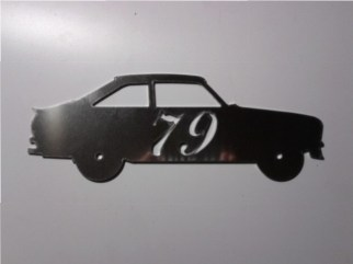 House Number: Mk1 Escort Saloon