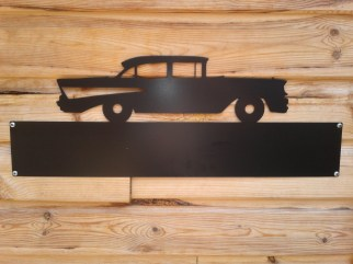 Silhouette Sign: 57' Chevy