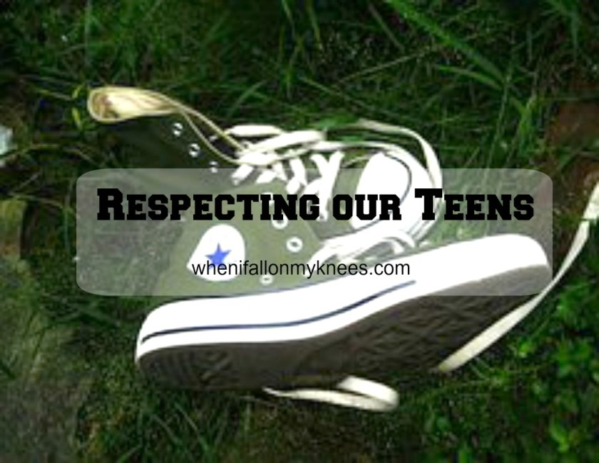 Respecting our teens