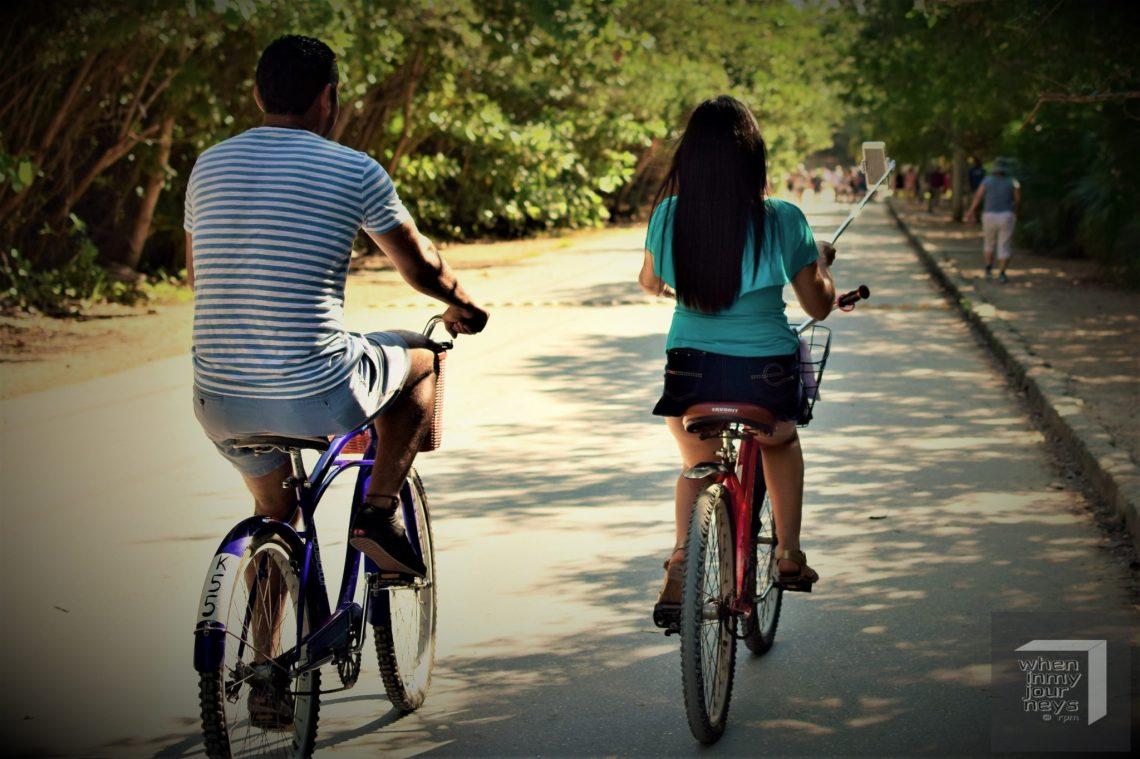 Biking in Tulum
