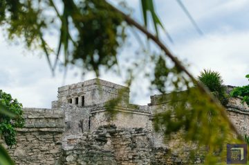 The Castle at Tulum Ruins