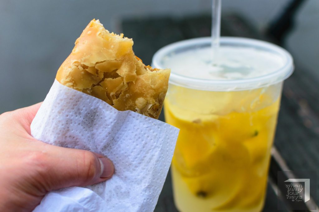 empanada and lemonade puerto rico