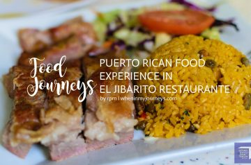Food Journeys Puerto Rican Food Experience in El Jibarito Restaurante