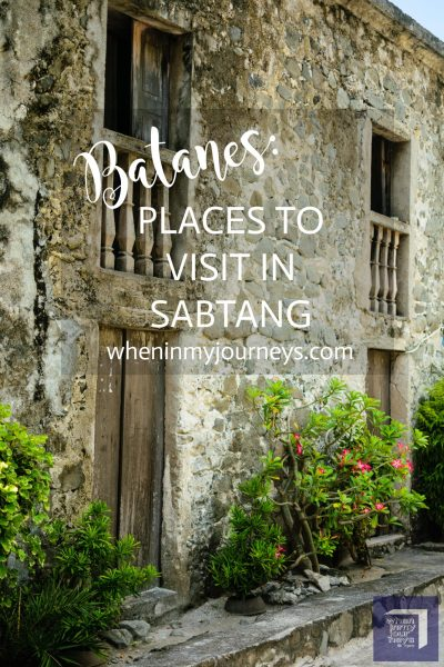 Batanes Places to Visit in Sabtang Portrait